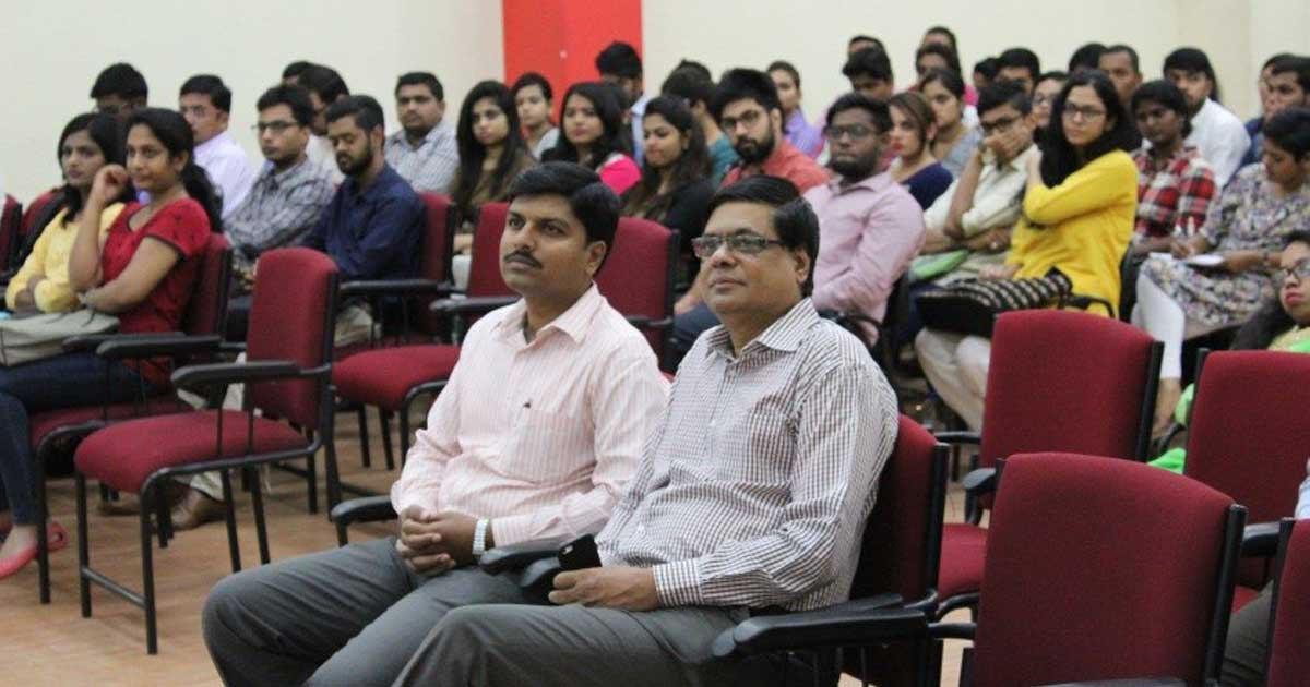 Session on Entrepreneurship by Prof. NVH Krishnan and Mr. Nayaz Ahmed