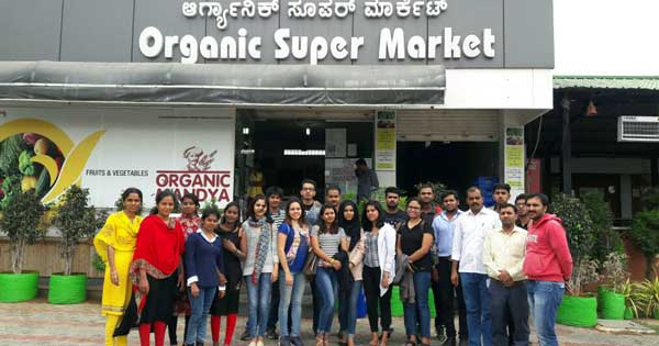 industrial visit to organic mandya